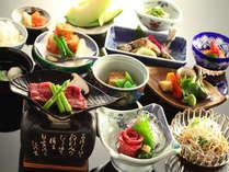 信州の郷土料理を堪能   懐石一例