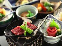 【懐石料理の一品】とろける信州牛!!