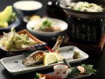 旬の食材をふんだんに使ったお料理の数々。