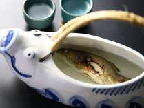 【別注メニュー】岩魚の骨酒