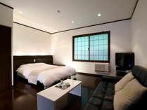 1室限定♪1F【ダブルベッドルーム8畳】