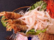 【春会席】 能登でしか味わえない3種の海老を食べ比べプラン♪