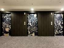 エレベーターホール10階