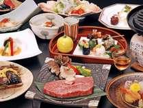 四季を彩る創作料理とブランド飛騨牛をご堪能ください。(料理イメージ)