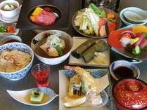 【9/1~10/31期間限定】「飛騨牛石焼ステーキ」「秋鮭味噌鍋」「松茸ごはん」~秋のからくり会席~