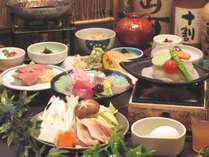 ~春の旬彩~「名古屋コーチンすき焼き」「桜鯛と大根のステーキ」「白魚と山菜のかき揚げ」おすすめ会席