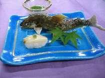 清流の女王鮎 別名香魚とも呼ばれます