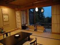 露天風呂付和室12.5畳タイプの客室