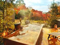 """色づく美濃の大自然に抱かれながら""""日常から解き放たれる""""ここにしかない湯贅をご堪能ください"""