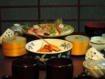 お食事処での軽めの夕食(一例 献立お任せ)