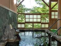 岩露天風呂(露天風呂からの新緑や紅葉、雪景色が人気です)