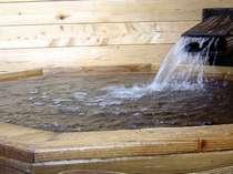 別邸鷹山(露天風呂客室)スタンダード客室タイプの露天風呂