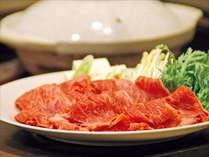 【こだわりの近江牛】赤身すき焼き一例。あっさりヘルシー系がお好きな方に♪