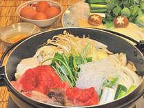 """≪すき焼き/御食事一例≫美味しい近江牛は""""老舗松喜屋""""の近江牛のみを使用。"""