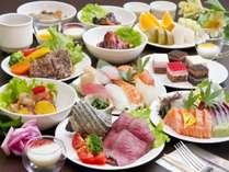 ■夕食ビュッフェ/さまざまな料理をご堪能ください。