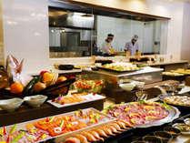 【Buffet TSUBAKI 夕食】お料理卓
