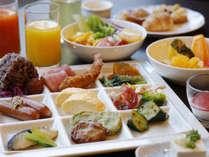 【Buffet TSUBAKI 朝食】一日の始まりはたっぷりの朝食から。