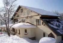 冬は米沢スキー場ゲレンデ内。