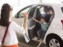 駐車場は300台駐車可能!RV車も楽々停められます。