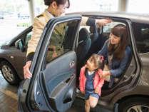 RV車も楽々駐車可能な24時間入出庫自由な駐車場は約300台駐車可能!