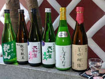 *福島の地酒を6種類ご用意しております!!お気に入りを見つけてください♪