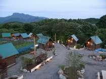 施設外観 山の中にあるキャンプ場ですので静かで景色も最高です!
