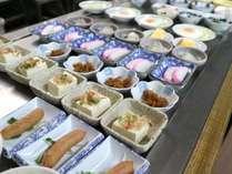 *【朝食一例】約20種類のお好きな小鉢が取り放題!