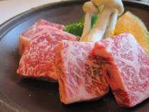 【但馬を味わう♪】サイコロステーキ付会席プラン♪特選和牛の旨み&旬の食材をご堪能