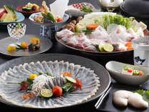 【淡路島冬の味覚の王様】淡路3年ふぐの特別料理(白子付)3年とらふぐ鍋