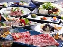 ◎極上の和歌山県産ブランド牛を食べ尽くし 『熊野牛尽くし』 〓鍋〓 【特選】霜降りしゃぶしゃぶ会席