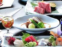 【夕食会席】和歌山ブランド牛「熊野牛会席」(一例)