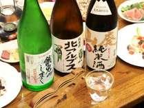 【大将オススメ!】日本酒を愛する大将が厳選した地酒。日本酒っておいしいんです!