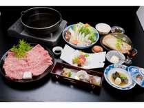 新緑 松阪肉すき焼