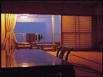 海一望のテラス付和室客室