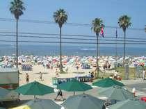 東海地区最大の内海海水浴場。日本白砂百選にも選ばれた千鳥ヶ浜。