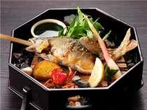【秋限定】◆落ち鮎の塩焼付◆たまらない!腹に卵を抱えた子持ちアユを味わう会津創作郷土料理