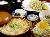*【夕食例】手造りのお食事がうれしい♪日替わりの献立です。