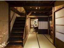 客室・階段