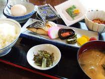 【朝食】和食又は洋食からお選び頂けます。