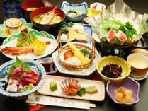 【彩】井元スタンダード会席コース☆季節の厳選した地元食材を贅沢に使用したコースのお料理です。