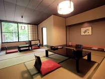 *露天付和室一例/一番人気!八幡平国立公園内で唯一の露天風呂付き客室です。