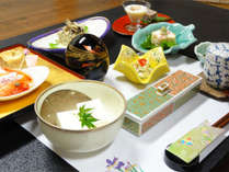 【2食付】霊峰大山の麓。心身を癒す和の空間と会席豆腐料理