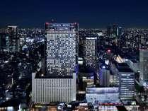 品川プリンスホテル全景(夜)