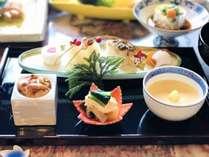 師走の懐石(前菜)