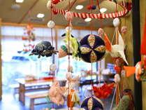 ■女性の幸せを願って作られた吊るし雛飾り