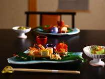 ■個室で愉しむお食事 会話を弾むゆったりとしたひと時を