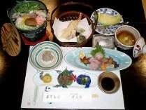 季節の会席料理六品
