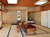 客室一例。バス・トイレはお部屋にございません
