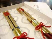 ★縁★絆★願★「縁結び箸」を1部屋に1セットお付けいたします。