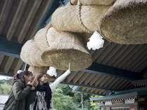 日本一巨大な大しめ縄は迫力たっぷり!出雲大社を訪れるなら、こちらもぜひご覧ください♪